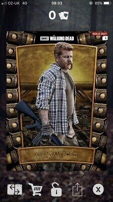 Abraham- Survival Syndicate - 537cc - Topps The Walking Dead Card Trader
