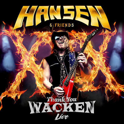 Hansen & Friends Thank You Wacken Live 2017 CD+DVD Nuovo / Sigillato Kai