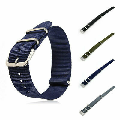 Nylon NATO Watch Strap Quality Band Army Military Diver G10 18/20/22mm Fabric