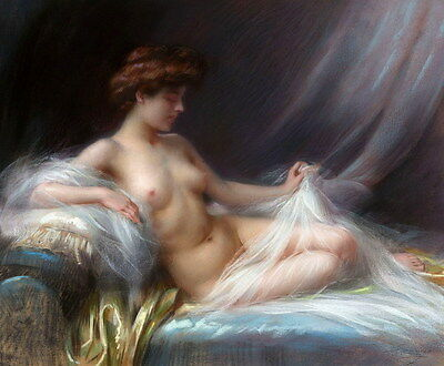 Art Giclee Print Reclining Female Nudes Oil painting HD Printed on Canvas P860