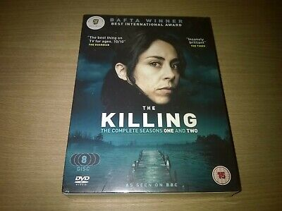 The Killing Complete Seasons One & Two 8 Disc Box Set Genuine R2 DVD New Sealed