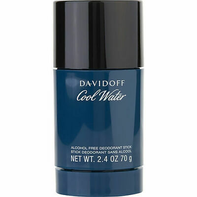 Davidoff Cool Water Men Deodorant Stick 2.4 Oz / 70g New Sealed