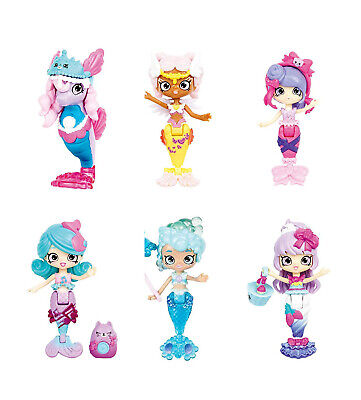 Shopkins Happy Places Single Shoppies Doll - Mermaid Tails NEW 2019