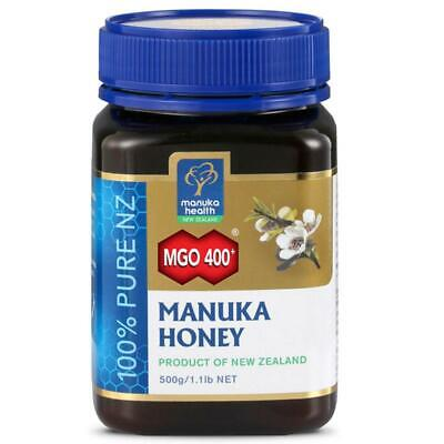 Manuka Honig MGO 400+ 500g HEALTH MANUKA Honey New Zealand