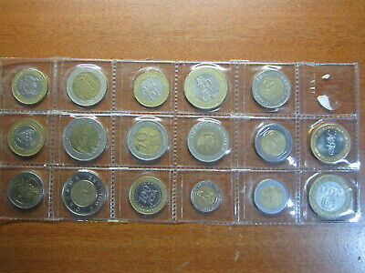Bimetal coins BULK LOT 17 Mixed in coin page