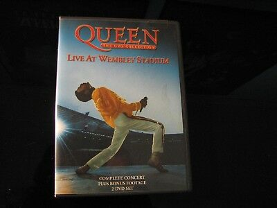 Queen The DVD Collection - Live at Wembley Stadium -  2-DVD Set with booklet