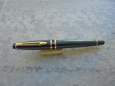 Fountain Pen (Pluma) Waterman Mod. Expert Verde Lacado Y Oro Años 2010 Unica