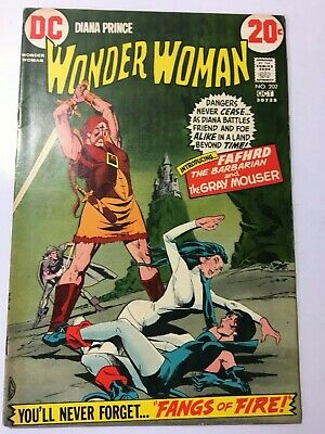 DC Comics Wonder Woman #202 oct 1972