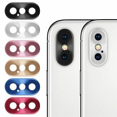 Metal Rear Camera Lens Case Full Cover Protector Ring Accessory For iPhone Serie