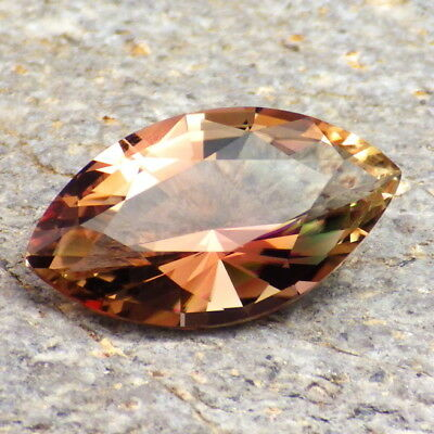 COPPER-PINK-GREENISH OREGON SUNSTONE 5.56Ct FLAWLESS-FOR HIGH-END JEWELRY