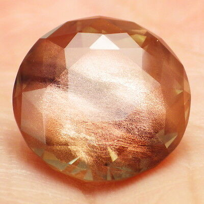 Vert Neige Oregon Sunstone 16.35ct Flawless-Amazing Cuivre Schiller-Investm