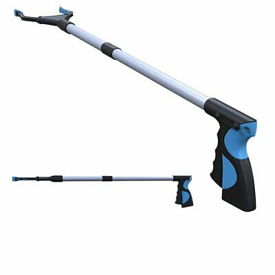 Foldable Pick Up Reaching Long Arm Gripper Grabber Picker Helping Hand Tool DS