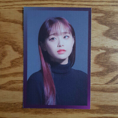 Chuu Separated Photo Loonaverse Concert Official MD Loona Monthly Girl Kpop