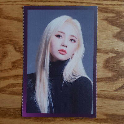 Jinsoul Separated Photo Loonaverse Concert Official MD Loona Monthly Girl Kpop