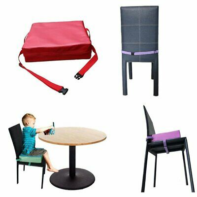 Portable Children Kids Dining Chair Booster Cushion Pad Baby Highchair Seat DS
