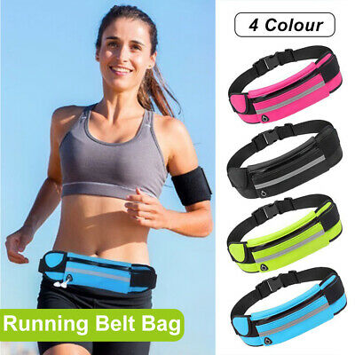 Running Bum Bag Fanny Pack Waist Bags Money Wallet Zip Belt Pouch Sports Travel