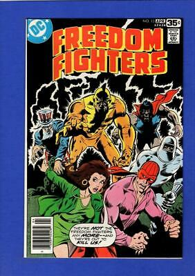 Freedom Fighters #13 Nm 9.4/9.6 High Grade Bronze Age Dc