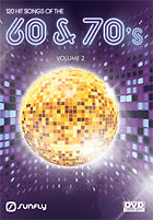 Hits From The 60S And 70S Vol 2 Sunfly Karaoke Dvd - 120 Hit Songs