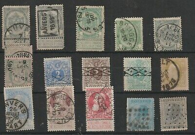 Stamps  From Belgium 1866.