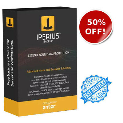 Iperius Backup 5.8.5 / Full version 🔑LIFETIME KEY 🔑🔥FAST EMAIL DELIVERY🔥