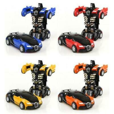 Kids Toy Robot Car Transformers Toddler Vehicle Cool Toy For Boys Birthday Gifts
