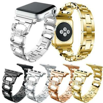 Stainless Steel iWatch Band  Bracelet Strap For Apple Watch Series 4 3 2 1