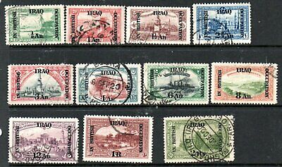 Iraq 1918 to 2R used, so fine pmks  cat £14+