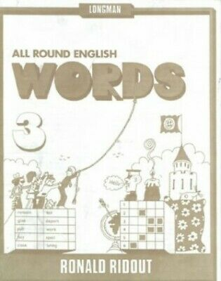 All Round English Words 3: Words Bk. 3 by Holt, M Paperback Book The Fast Free