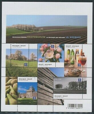 "[Farde023] Belgium 2010 ""la Hesbaye"" good sheet very fine MNH"