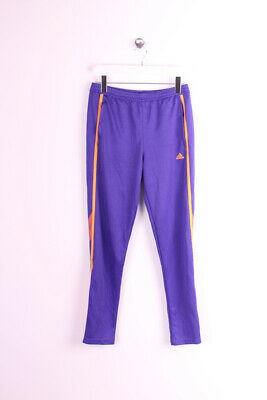 Girls adidas tracksuit bottoms purple 13-14 years