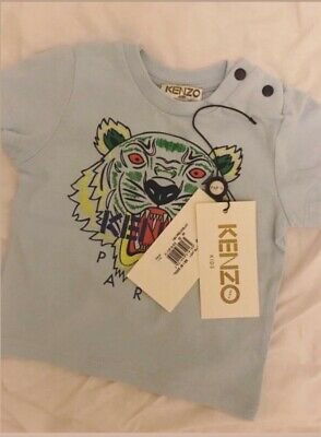 KENZO baby boy girl unisex t-shirt size up to 6 months