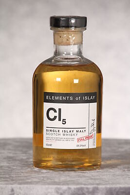 Elements of Islay CI5 Full Proof, Speciality Drinks Ltd 0,5 ltr. (169,80 EUR/l)
