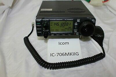 Icom IC-706MKIIG HF/VHF/UHF All Mode Transceiver 706MK2G 706MKIIG