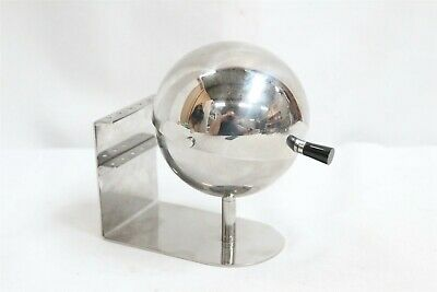 MCM Space Age Orb Ball Hors D'Oeuvres Chrome Ball Eames Interest