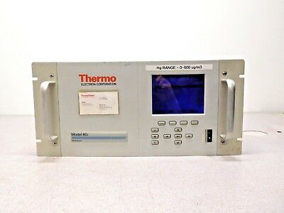 Mo-2465, Thermo Electron 80i Hg Mercury Analyseur 80i-adfncb