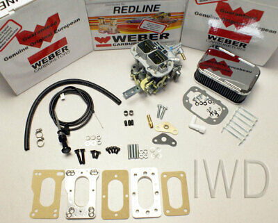 Toyota Pickup 20R 22R Weber Carburetor Conversion Kit - Manual Choke K746M Kit
