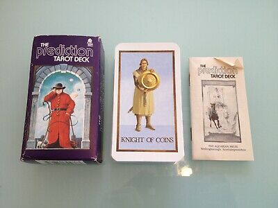 1985 Vintage THE P********N Tarot Card DECK used RARE box instruction 78 cards