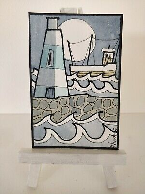 Original Watercolour Painting ACEO - Wishing Them Home