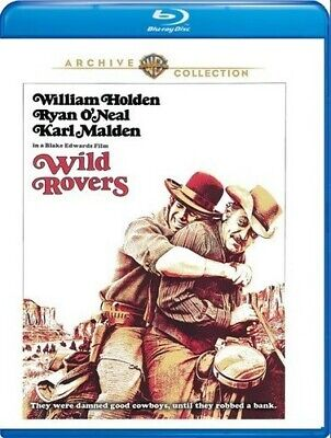 Wild Rovers [New Blu-ray] Manufactured On Demand, Subtitled, Amaray Case