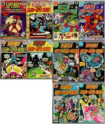 Superboy And The Legion Of Super Heroes #197-200, 247, 248, 253, 254, 257, 258