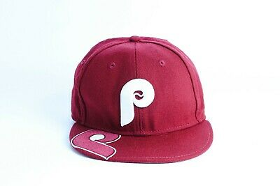 Philadelphia Phillies New Era 59Fifty Cooperstown Collection Fitted  Baseball Hat 7bda3b7a3e1