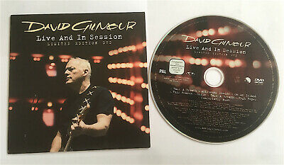 David Gilmour  Live And In Session Promo Card Sleeve