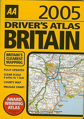 AA Driver's Atlas Britain: 2006 by AA Publishing (Paperback, 2005) whbook