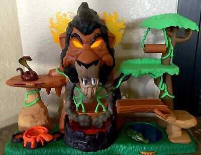 Just Play Lion Guard The Rise of Scar Play Set, The Lion King Disney Junior