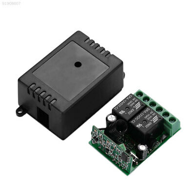 EBF0 DC 12V 2CH Wireless Electric Remote Control Relay Switch Receiver 433MHZ