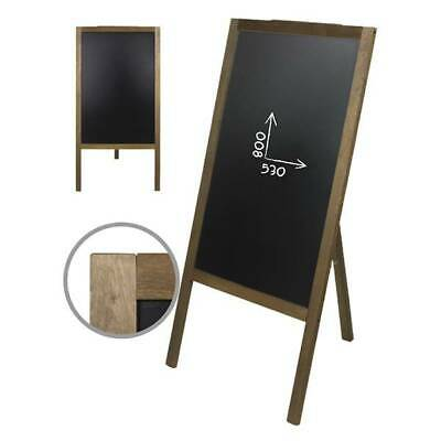 Chevalet ardoise simple face pour restaurant 1140 x 610 mm