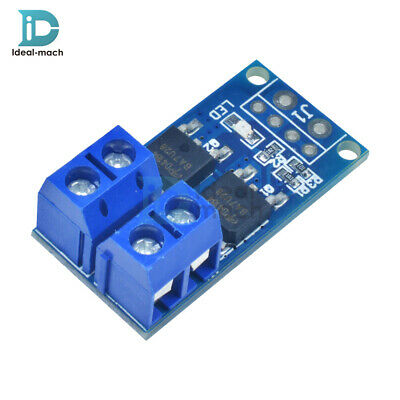 15A 400W Trigger Switch Driver Module Dual MOS Tube PWM Switch Panel Board