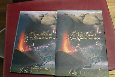 599019/ Jahrbuch ** MNH Neuseeland 1996 with all Stamps