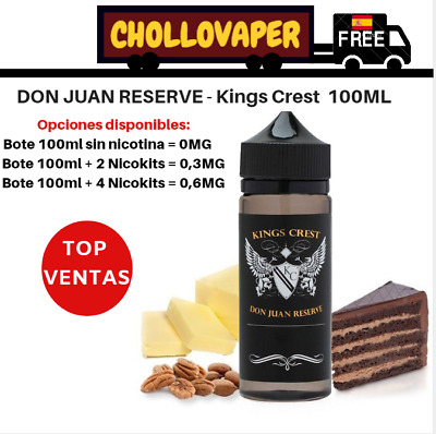 Don Juan Reserve 100ml - Kings Crest E-liquid