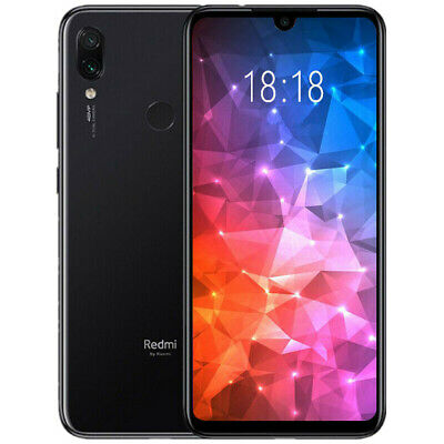 "Xiaomi Redmi Note 7 3GB 32GB Nero 6.3"" Smartphone Versione Globale Spina Europea"